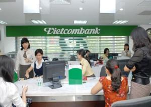 Vay vốn kinh doanh ngân hàng Vietcombank