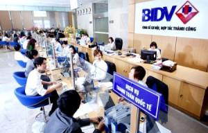 8000 tỷ cho vay vốn kinh doanh của ngân hàng BIDV