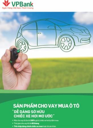 Mua hoặc kinh doanh ô tô cùng gói vay VPBANK