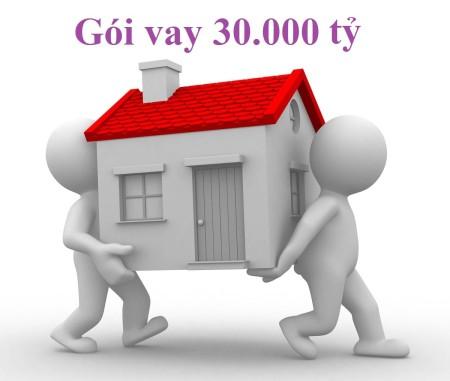 Điều kiện và thủ tục để được vay mua nhà gói 30.000 tỷ