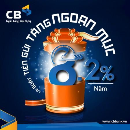 Gửi tiết kiệm tại ngân hàng CBBank kỳ hạn ngắn