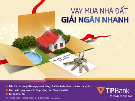 Điều kiện vay thế chấp 1 tỷ mua nhà ngân hàng Tiên Phong